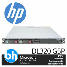 HP Proliant DL320 G5P Bis Zu Intel Xeon 2.40GHz/8GB RAM Regalfähiger Server 1U