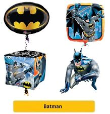 "BATMAN PALLONCINI STAGNOLA SuperShape/Bambini/Compleanno/Festa/Lamina/18""/Latex"