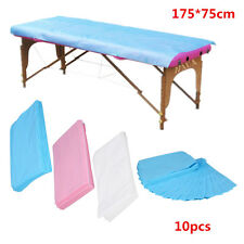 10PCS Waterproof Disposable Nonwoven Bed Sheet Couch Cover For Massage Table DY