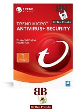 Trend Micro Antivirus or Trend Micro Internet Security 2019 - 1 User, 1 Year