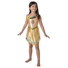 Childs Disney Fairytale Pocahontas Indian Girls Fancy Dress Costume 620639
