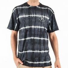 HUF 12 Galaxies Lightning Stripe T-shirt shirt tie dye schwarz print TS53065