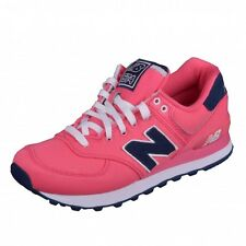 New Balance 574 Classics Traditionnels Runner Sneaker Rosa Frauenschuhe WL574POP