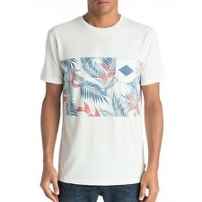 Quiksilver Faded Time Tee Pocket T-Shirt Shirt vintage white weiß eqykt03545