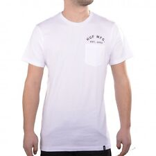 HUF Oneself Pocket Tee Weiß White Print T-shirt Männer Herren Men TS64021