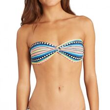 Billabong Sol Searcher Twisted Bandeau stripes Bikini C3 SW05 BIP7 1252