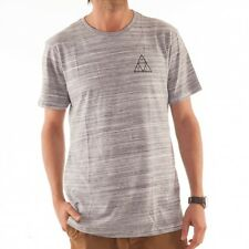 HUF Streaky Wash Tee T-shirt shirt gestreift white grey triangel TS51051 WHT