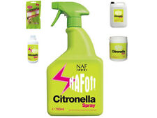 NAF OFF CITRONELLA SPRAY *ALL SIZES* Wash/ Tags/ Gel Horse Fly Equine Protection