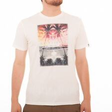 Quiksilver Ripples Tee T-Shirt Camicia vintage bianco EQYZT00063