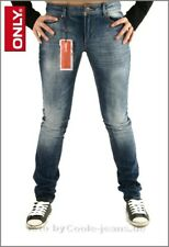 Only Damenenjeans Coral Skinny in super Waschung, W26, W27 und W32 in L32, L34