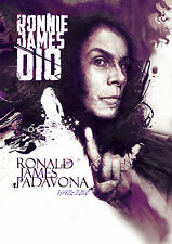 Tribute to Ronnie James Dio - Illustration A3 Poster Open Edition Art Print