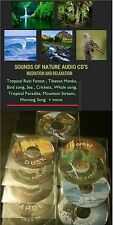 SOUNDS OF THE NIGHT -   NATURE SOUNDS AUDIO CD  #Meditation #Relaxation FREE P&P