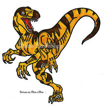Window Color Bild Fensterbild Fensterfolie Fenstersticker Dinosaurier (240)