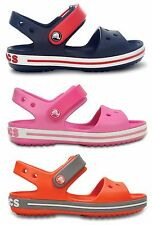 Crocs Kids Crocband Adjustable Lightweight Sandals.