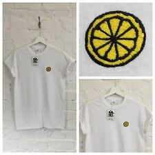 Actual Fact The Stone Roses ricamato IAN BROWN MAGLIETTA T-SHIRT