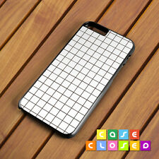 GRID GEOMETRIC Phone Case Cover Tumblr Pattern for iPhone Samsung Hard/Rubber