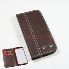 For Apple iPhone 6s Flip Wallet Leather Case Cover Magnetic Luxury Brown