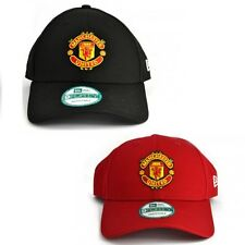 New Era hommes 9Forty Casquette Baseball MANCHESTER UNITED ROUGE OU NOIR incurvé