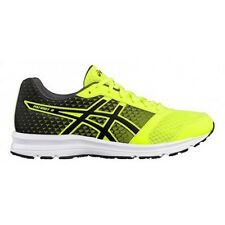 Asics Patriot 8 Safety Yellow Black Uomo Running Scarpe Nere Scarpa Corsa T619N