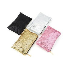 Glitter Sparkling Sequins Dazzling Clutch Evening Party Bag Handbag Purse GG
