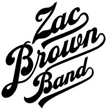 Vinyl Decal Truck Car Sticker Laptop - Music Country Bands Zac Brown Band