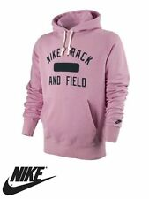 Nike Track And Field Pink Hoodie Hooded Top Running Gym ** NEW WITH TAGS **