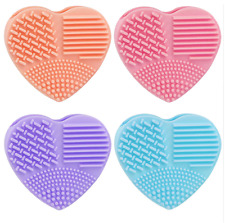Silicone Fashion Egg Cleaning Glove Makeup Washing Brush Scrubber Tool