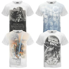 Star Wars officiel - T-shirt homme - imprimé sublimation Dark Vader/Stormtrooper