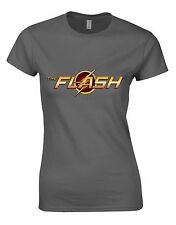 The FLash logo film serie Donna Donna T-shirt Maglia AI97