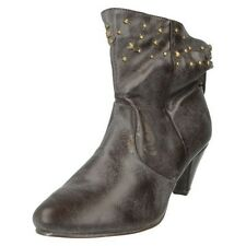 Mujer Spot On Botines LABEL f5656