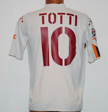 MAGLIA ROMA TOTTI JERSEY SHIRT player issue 2004 2005 MAZDA no MATCH WORN kit