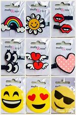💜 Girls Hair Clips Slides Grips Sleepies Childrens Kids Accessories Clamps
