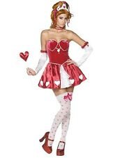 *CLEARANCE* Sexy Queen of Hearts Disney Women's Fancy Dress Costume (Smiffys)