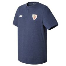 NEW BALANCE CAMISETA ENTRENAMIENTO NIÑO ATHLETIC CLUB BILBAO 18 JUNIOR ALGODÓN
