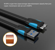 USB 3.0 A Male to Micro B Male USB Cable for Smartphones & HD Vention High Spee