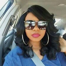 Wavy Lace Front Bob Wigs Brazilian Human Remy Hair Full Lace Wigs With Baby Hair