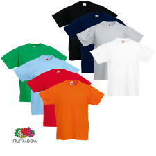 Fruit of the Loom Original 5x Kinder T-Shirt Kids Shirts mehrere Auswahl 104-164