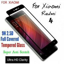 *3D*Curved Full Cover 9HD Tempered Glass Screen Protector For XIAOMI Redmi 4 *