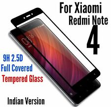 *NEW*3D Full HD 9H Tempered Glass Screen Protector For XIAOMI REDMI NOTE 4