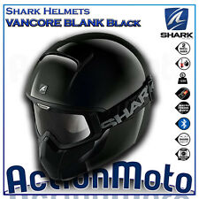 Casco Helmet Integral SHARK VANCORE Negro Brillante moto scooter urban