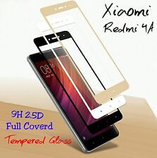 *3D*Curved Full Cover HD Tempered Glass Screen Protector For Xiaomi Redmi 4A *