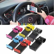 Universal Adjustable Car Steering Wheel Phone Mount Holder For All Phone PP