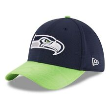 New Era NFL SEATTLE SEAHAWKS Authentic 2016 On Field Sideline 39THIRTY Game Cap