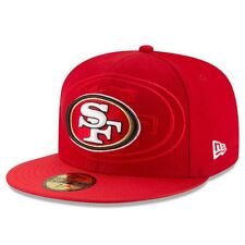 New Era NFL SAN FRANCISCO 49ers Authentic 2016 On Field 59FIFTY Game Cap NEU/OVP