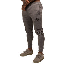 Masters of Ceremony Mens Designer Skinny Tech Joggers Tracksuit Bottoms Grey