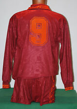 maglia roma Totti asics 1994 1995 home no match worn issue jersey shirt L