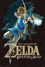 The Legend of Zelda Breath of the Wild Game Cover Poster 61x91.5cm