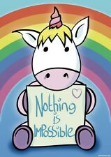 Nothing Is Impossible Mini Poster 32x44cm