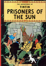 Tintin Prisoners of the Sun Print/Poster (d1577)