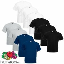 Fruit of the Loom 5/10 t-shirts pour hommes extra-larges Multicolore 3XL-5XL